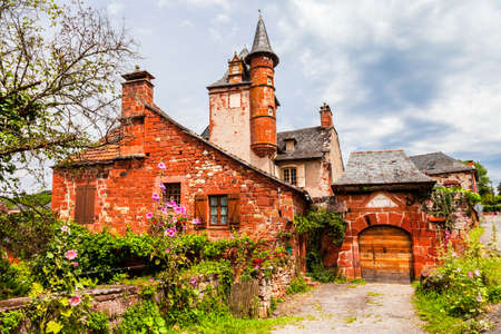 Collonges-la-Rouge - one of the most beautiful villages in France