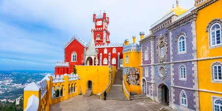 Landmarks of Portugal - Pena castle in Sintra