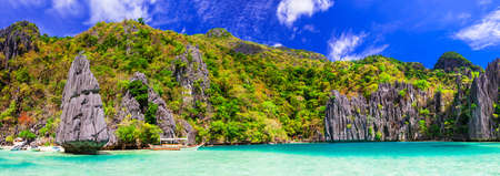 Incredible nature in Philippines Island, El Nido.