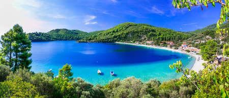Photo pour Beautiful Skopelos island, panoramic view, Sporades, Greece - image libre de droit