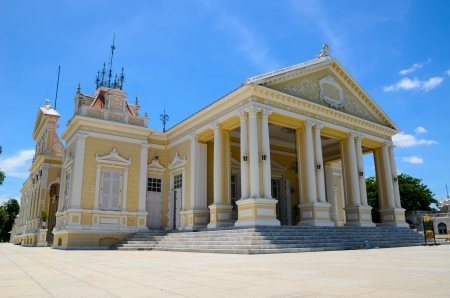 Greek style residential hall