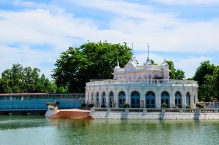 Elegant waterfront palace