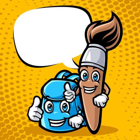 Illustration pour Education character vector illustration - image libre de droit