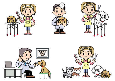 Veterinarian Dog groomer