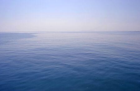 calm seas and no wind