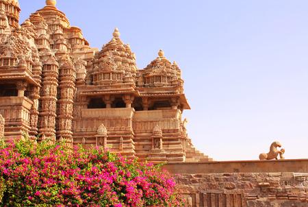 Devi Jagdambi Temple, Western Temples in Khajuraho, Madya Pradesh, India