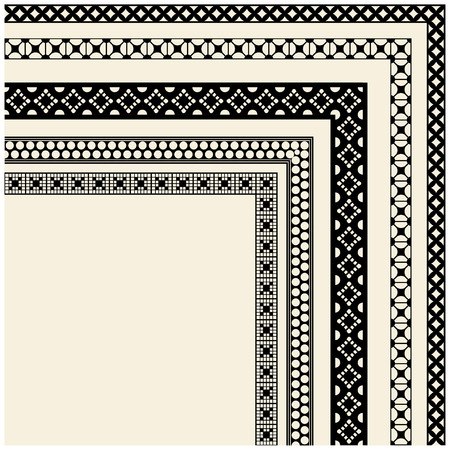 vector frame. design element. Isolated on white background