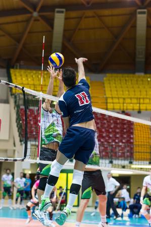 MILAN, ITALY – DECEMBER, 1:    I. Botto (11) in Vero Volley  Monza – Globo BP Frosinate Sora ( Italian Volley League A2) on December, 1, 2013 in Milan , Italy