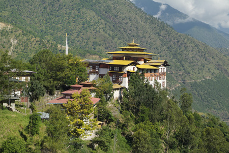 Bhutan, the dzong of Trashigang