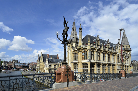 Belgium, Ghent, historical downtown
