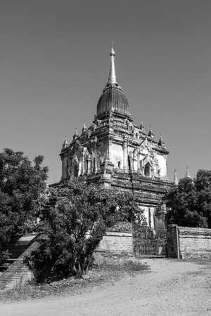 Photo pour Old Buddhist temple and Pagoda in Bagan, Myanmar - image libre de droit