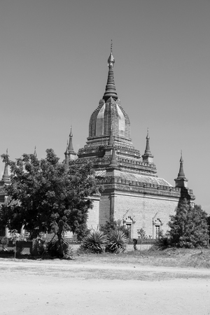 Photo pour Ancient Pagoda in Bagan, Myanmar - image libre de droit