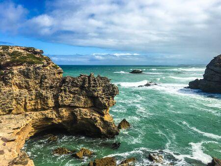 Photo pour View from a Beach in New Zealand - image libre de droit