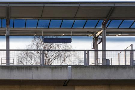 S railway station in the city Essen district Kupferdreh