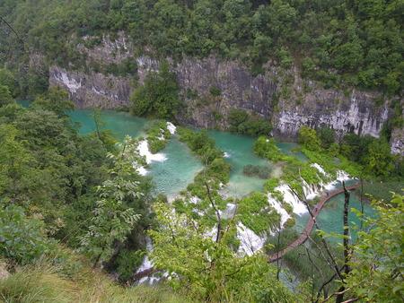 Parc National de Plitvice (le plus extraordinaire):chutes, cascades et lacs