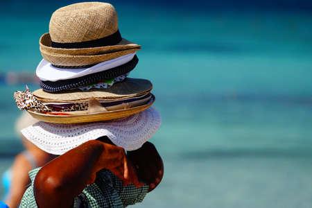 Foto de Many hats for sales   - Imagen libre de derechos