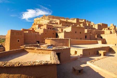 Houses in the desert of morocco