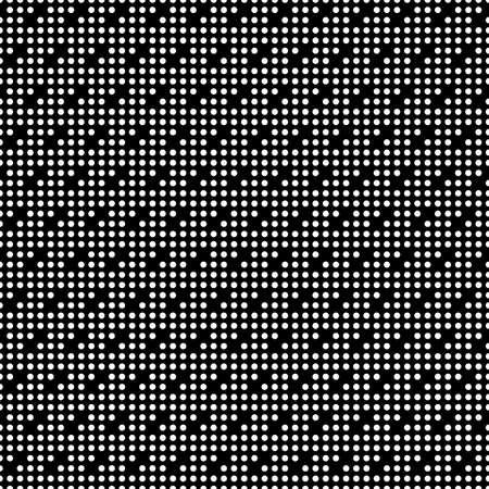 Illustration pour Seamless surface pattern with symmetric geometric ornament. Round spots texture. Circles abstract background. Polka dot motif. For digital paper, textile print, web design. Vector art illustration - image libre de droit