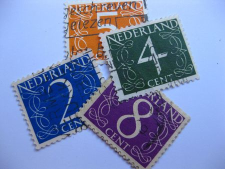 Old Dutch stamps