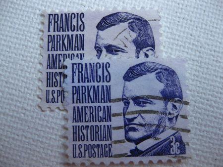 Vintage Francis Parkman 3 cent stamp