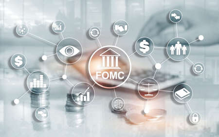 FOMC Federal Open Market Committee Government regulation Finance monitoring organisation.