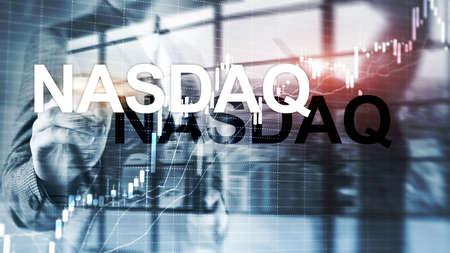 Foto für National Association of Securities Dealers Automated Quotation. NASDAQ. - Lizenzfreies Bild