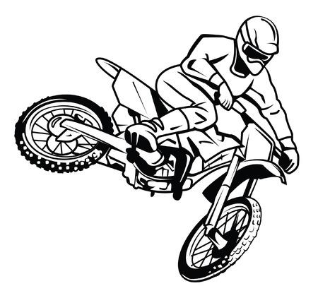 motor cross rider