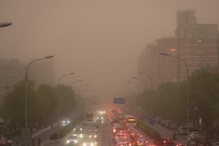 Sandstorm at Beijing