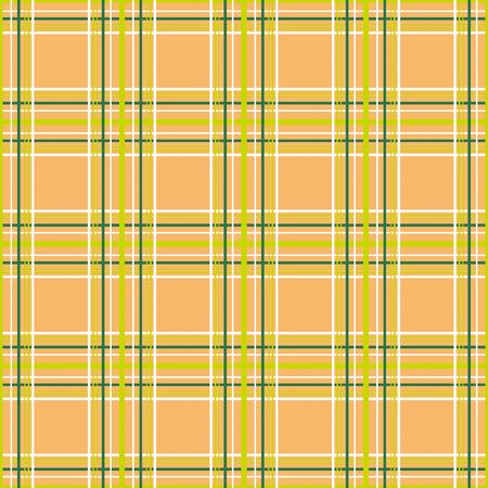 Foto de Seamless checkered plaid tartan orange pattern background - Imagen libre de derechos