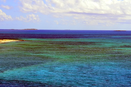 Colorful waters
