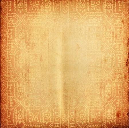 Photo pour Thai tradition old paper for text and background - image libre de droit