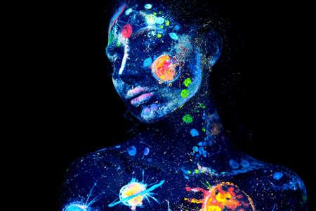 Foto de UV painting - Imagen libre de derechos