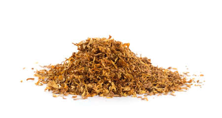 Photo pour Bunch of tobacco isolated on white background - image libre de droit