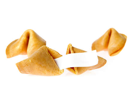 a lot of fortune cookies with a message