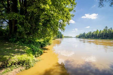 Photo for River Drava in Danube-Drava National Park (Danube-Drava National Park), Hungary - Royalty Free Image