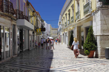 The center city of Faro, Algarve Capital, Portugal