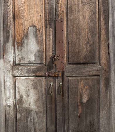 The old Door with the old lock.