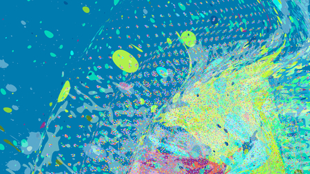 Wide Format Abstract Grunge Background Vector Without