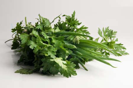 Parsley and chive
