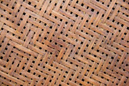 Wood weave is called threshing basket, Close-up for Background