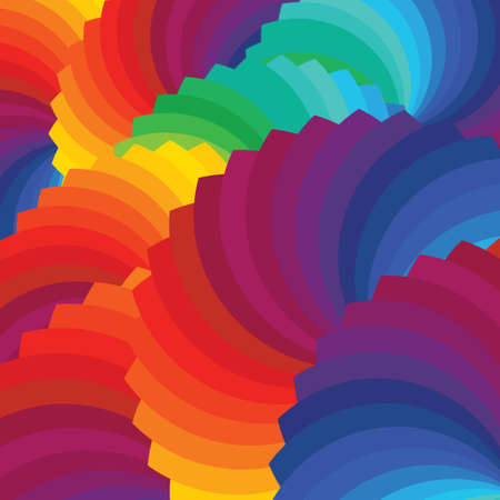 Color wheel background Illustration