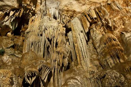 interno grotta orosei sardegna stalattiti