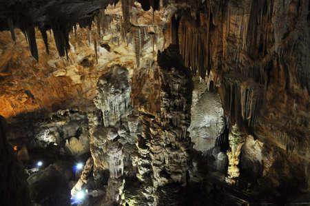 interno grotta orosei sardegna stalattiti 3