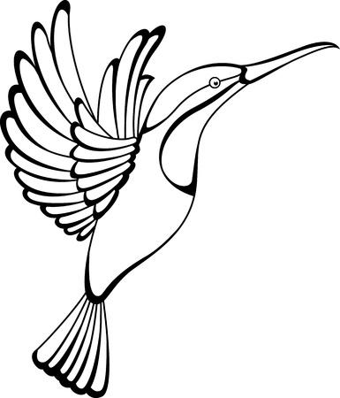 8aefec22a hummingbird tattoo: Royalty-free vector graphics