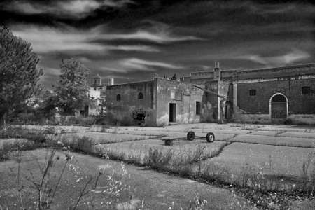 old decaying establishment