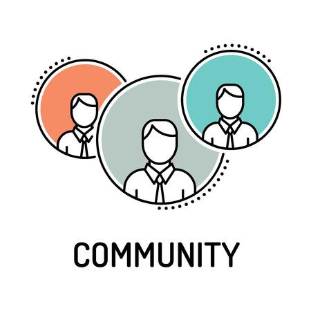 Community Line Icon