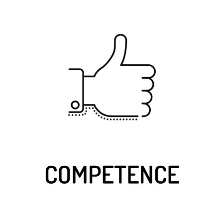 COMPETENCE Line icon
