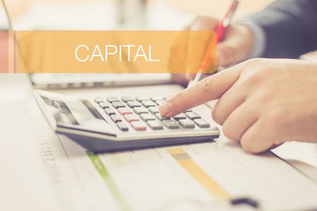 FINANCE CONCEPT: CAPITAL