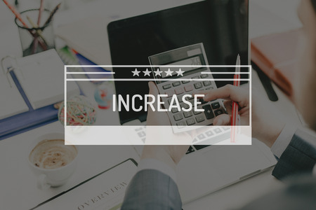 FINANCE CONCEPT: INCREASE