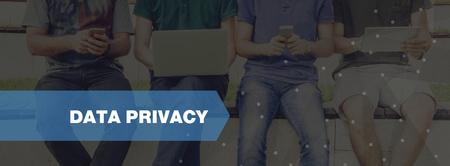 Photo pour TECHNOLOGY CONCEPT: DATA PRIVACY - image libre de droit